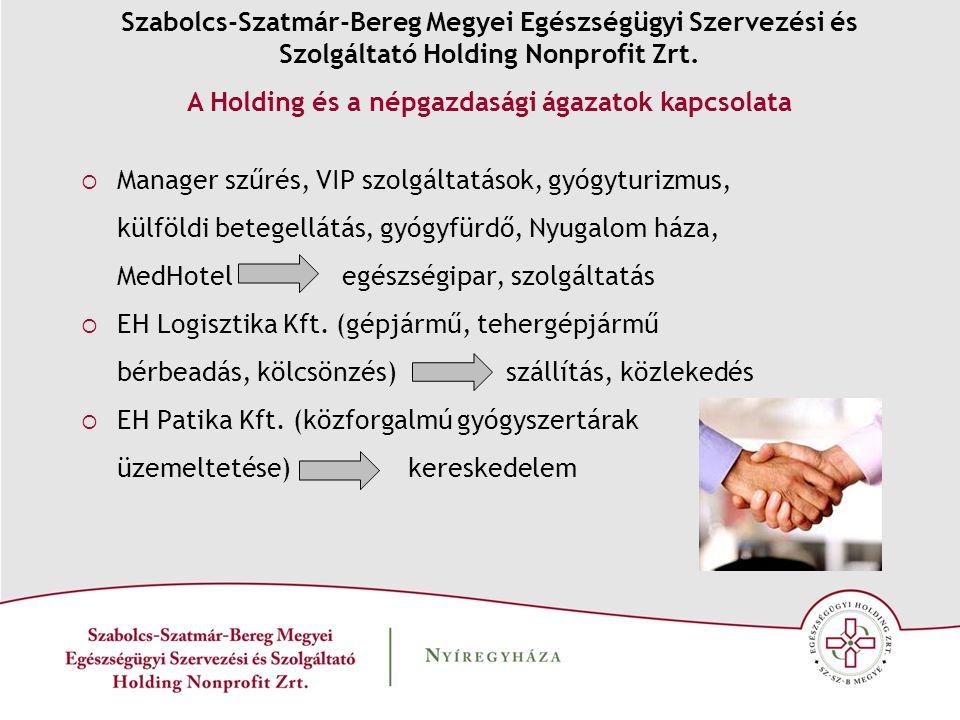  Manager szűrés, VIP szolgáltatások, gyógyturizmus, külföldi betegellátás, gyógyfürdő, Nyugalom háza, MedHotel egészségipar, szolgáltatás  EH Logisztika Kft.
