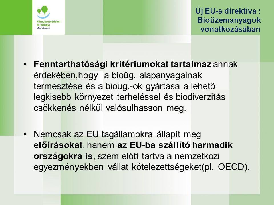 Magyar stratégiai célok a megújuló energiahasznosítás növelésére 2020-ra A megújuló energiaforrások terjedését ösztönző beavatkozások megvalósulásával számolva 2020-ra a megújuló energiafelhasználás a 2007.