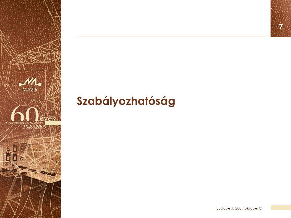 Budapest, 2009.október 8. 28 Leállítások, selejtezések