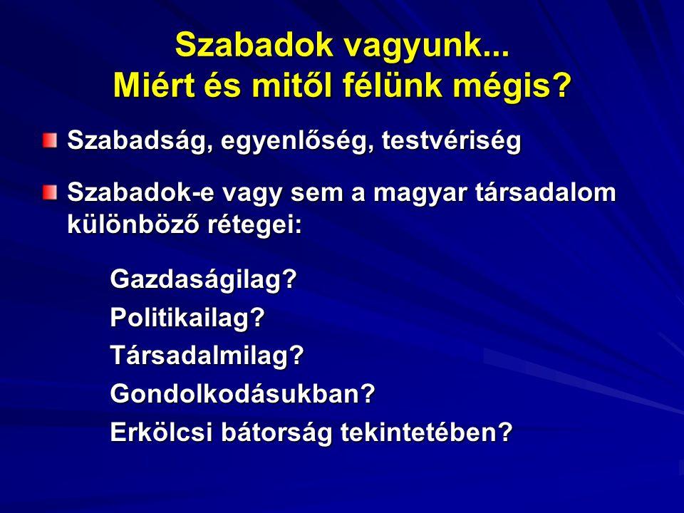 Rosszkedvünk telén … Miért rosszkedvű a magyar társadalom.