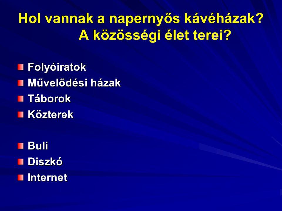 Magyarország Európában.Mi lehet a szerepünk.