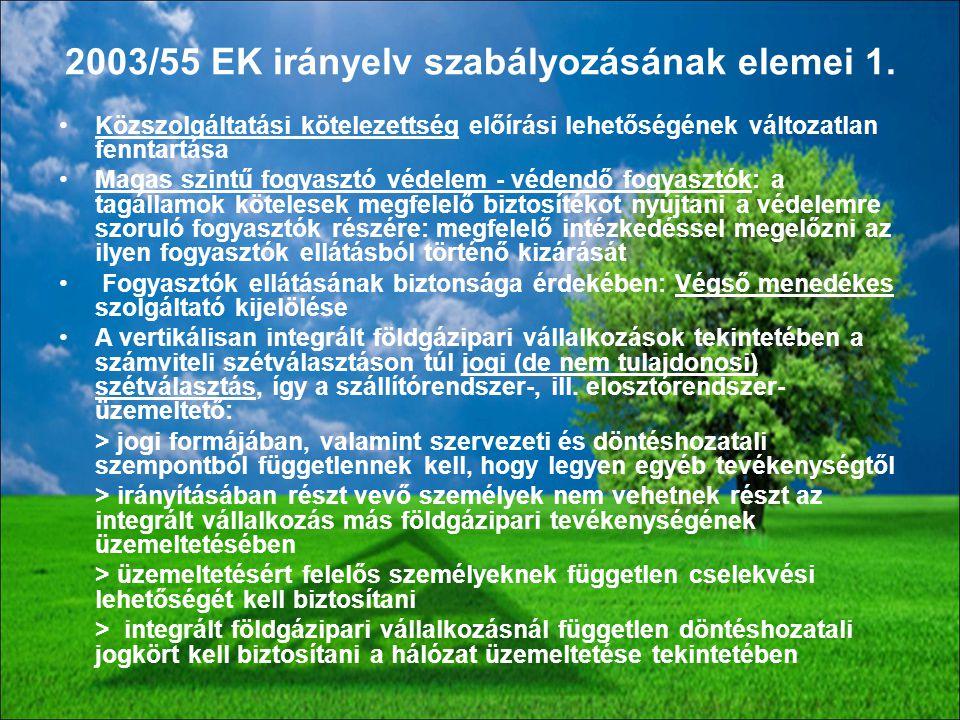 88 Közszolgáltatási kötelezettség előírási lehetőségének változatlan fenntartása Magas szintű fogyasztó védelem - védendő fogyasztók: a tagállamok köt