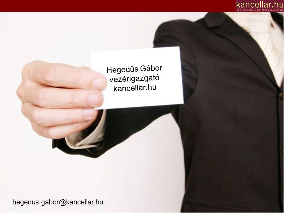 hegedus.gabor@kancellar.hu Hegedüs Gábor vezérigazgató kancellar.hu