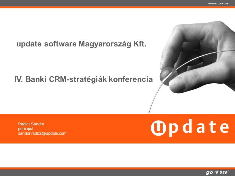 copyright © 2005 | update software AG | 23.07.2014 www.update.com update software Magyarország Kft.