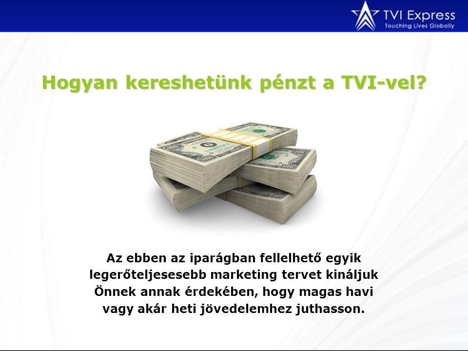 Hogyan kereshetünk pénzt a TVI-vel? Az ebben az iparágban fellelhető egyik legerőteljesesebb marketing tervet kináljuk Önnek annak érdekében, hogy mag