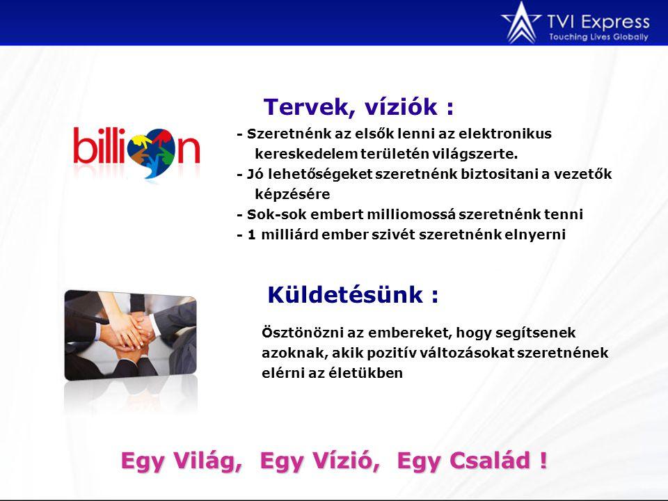 A 3 legnagyobb TREND A TVI 3 növekvő és közkedvelt trendet ötvözött, hogy a lehető legjobb üzleti lehetőséget tudja kínálni.
