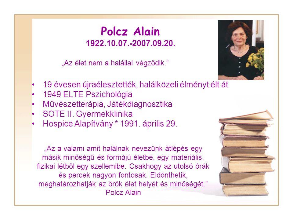 Polcz Alain 1922.10.07.-2007.09.20.