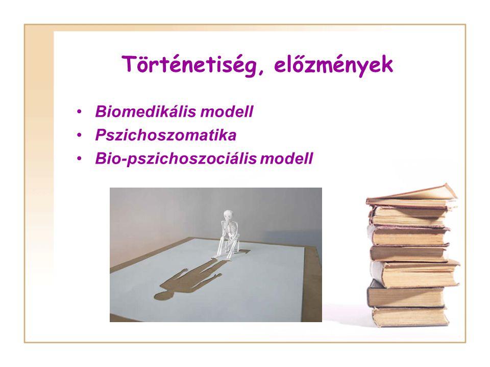 Biomedikális modell Az ember biológiai lény, amely sejtekből áll.