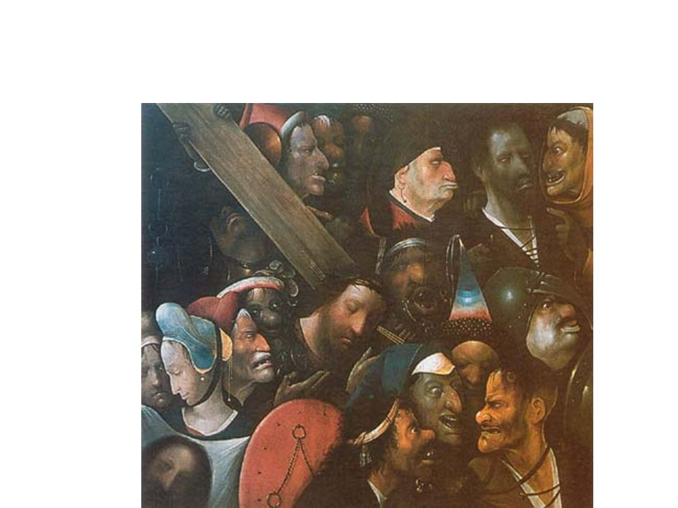 Hieronymus Bosch: Keresztút 1515-1516, Olaj, fa, 83x76 cm, Gent