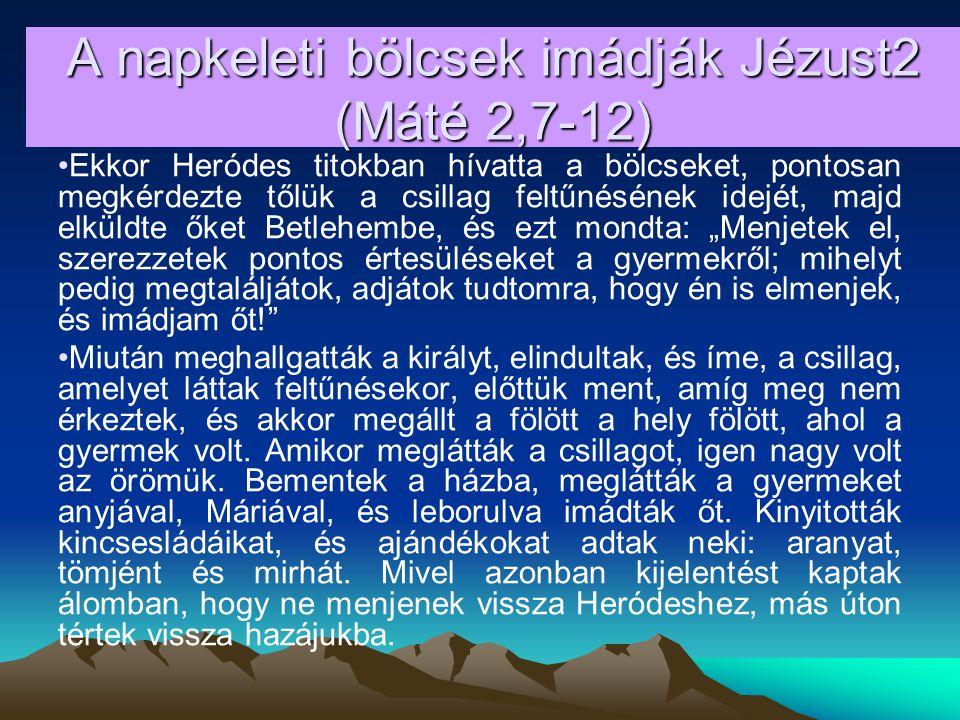 2c.Csillag származik Jákóbból… - 4Mózes 24,17 Látom őt, de nem most, szemlélem, de nem közel.