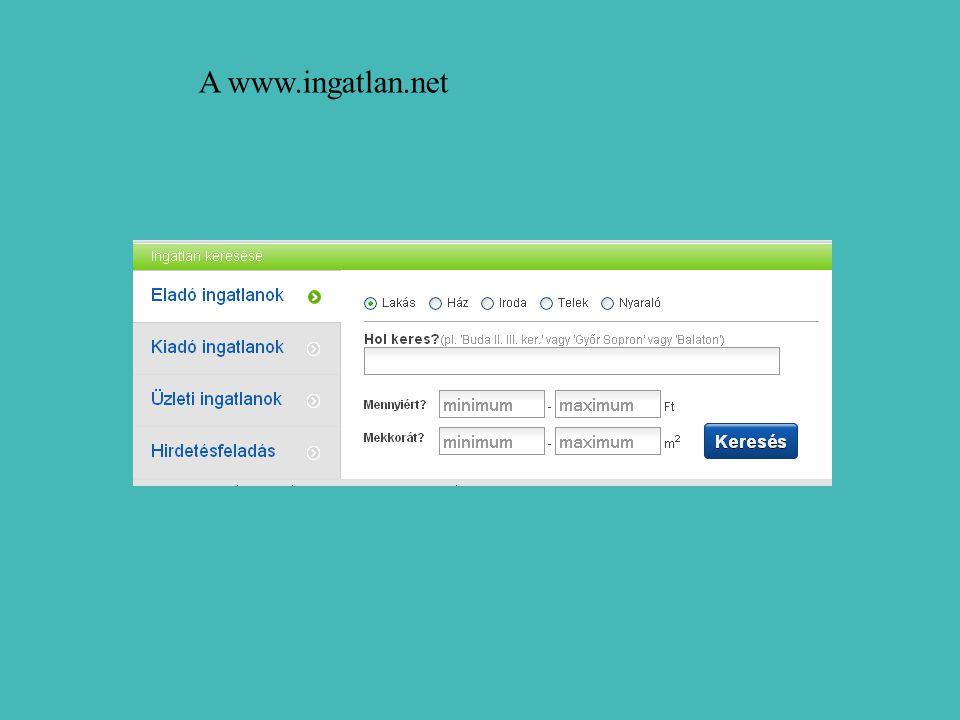 A www.ingatlan.net