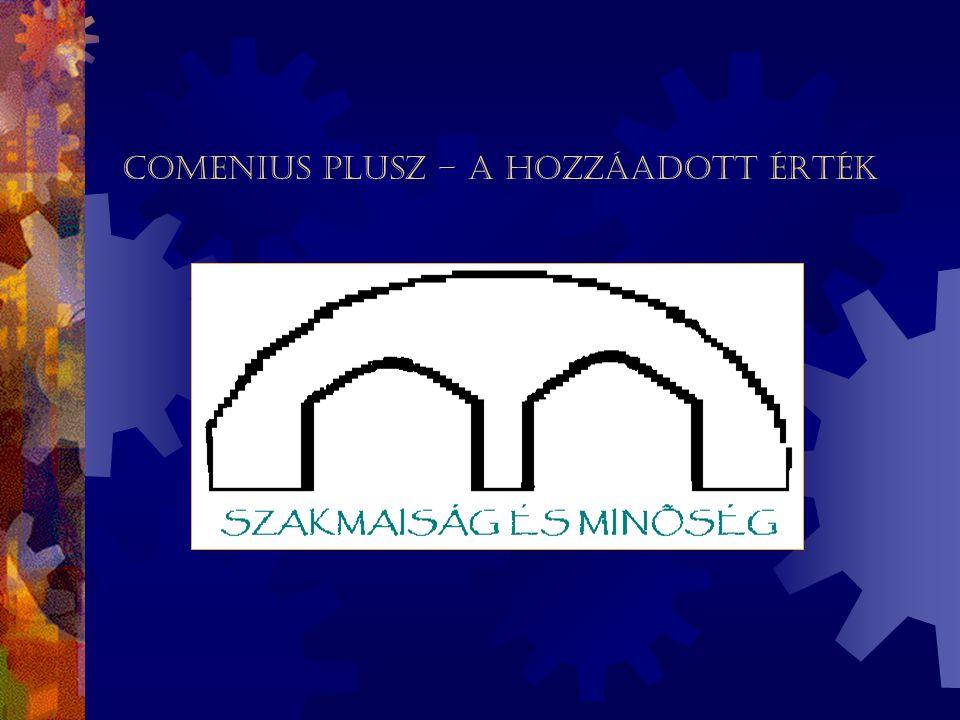 A Comenius PLUSZ minőségirányítási rendszer dokumentációja