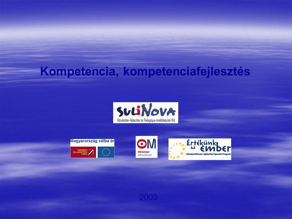 Kompetencia, kompetenciafejlesztés 2009
