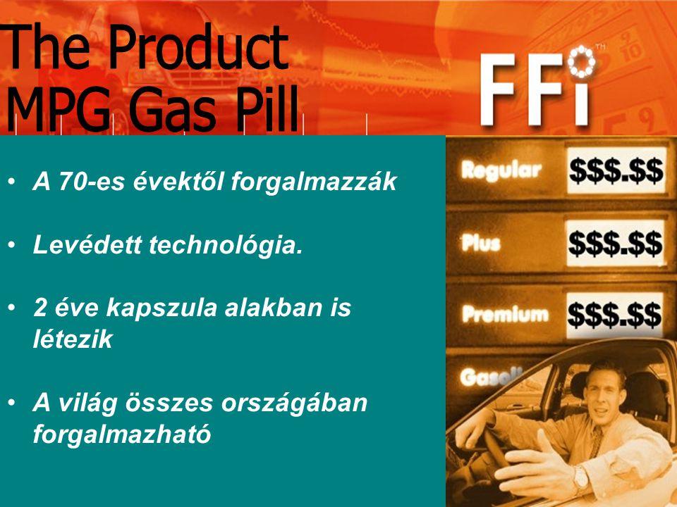MPG-CAPS Az USA-ban gyártják.A gyár, melyben előállítják EPA minősítésű.