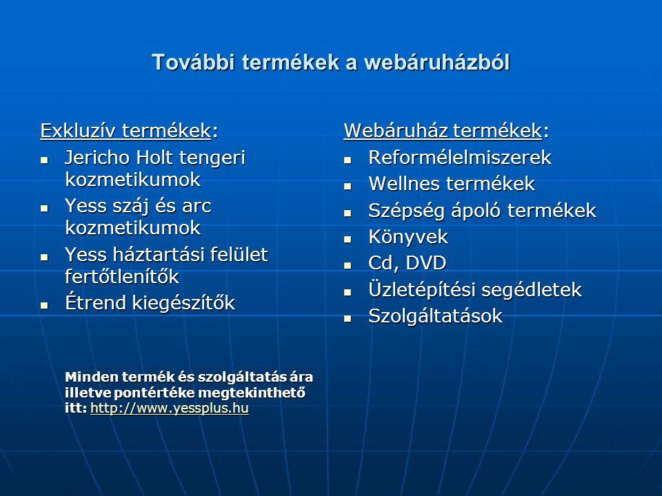 További termékek a webáruházból Exkluzív termékek: Jericho Holt tengeri kozmetikumok Jericho Holt tengeri kozmetikumok Yess száj és arc kozmetikumok Y