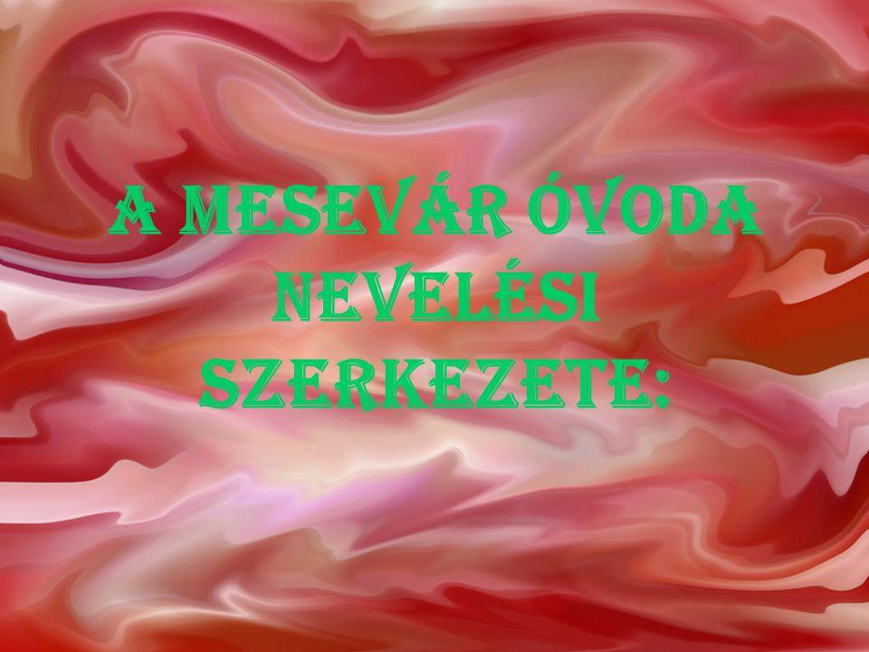A Mesevár Óvoda nevelési szerkezete: