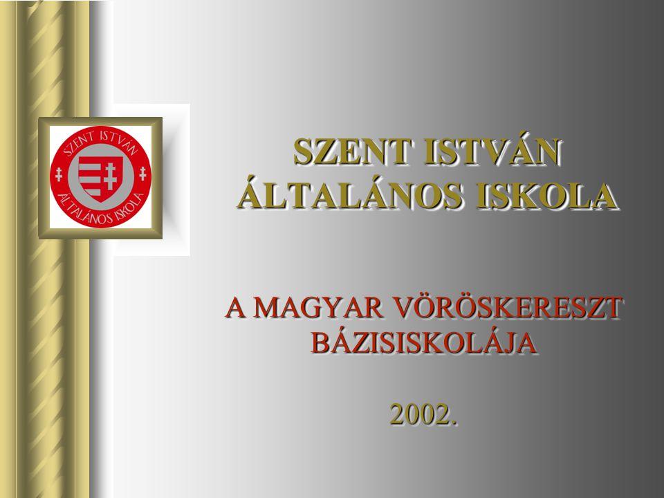 A MAGYAR VÖRÖSKERESZT BÁZISISKOLÁJA 2002. SZENT ISTVÁN ÁLTALÁNOS ISKOLA