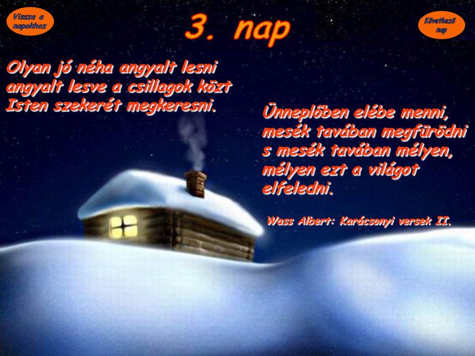 Wass Albert: Karácsonyi versek II.