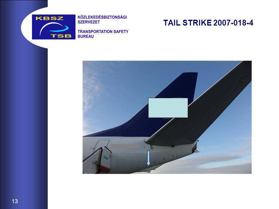 13 TAIL STRIKE 2007-018-4