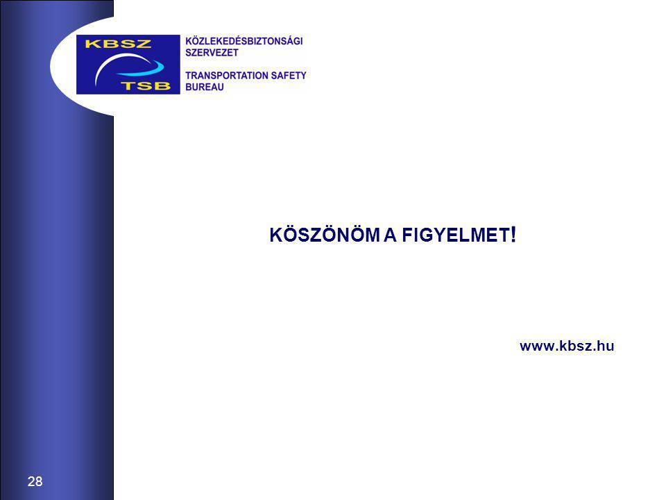 28 KÖSZÖNÖM A FIGYELMET ! www.kbsz.hu