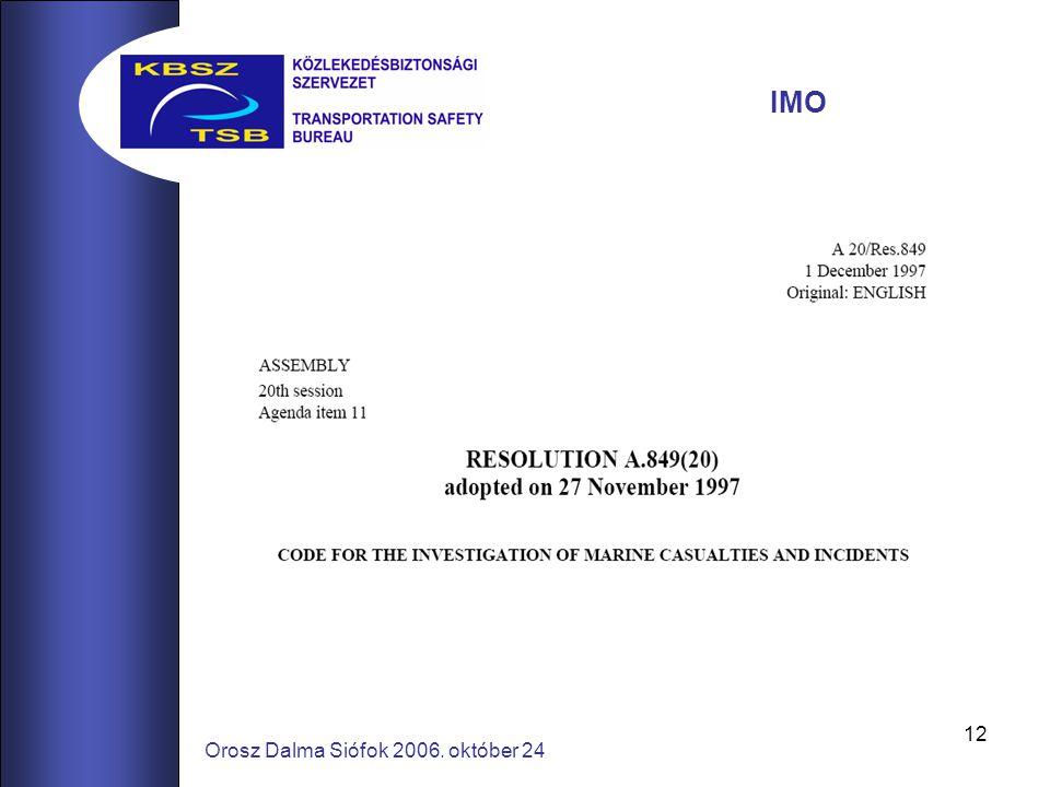12 Orosz Dalma Siófok 2006. október 24 IMO