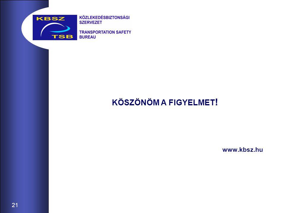 21 KÖSZÖNÖM A FIGYELMET ! www.kbsz.hu