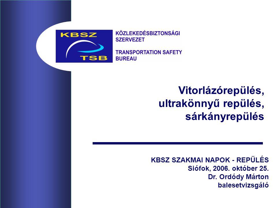KBSZ SZAKMAI NAPOK - REPÜLÉS Siófok, 2006.október 25.