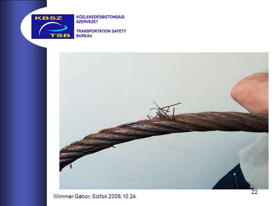 22 Wimmer Gábor, Siófok 2006.10.24.