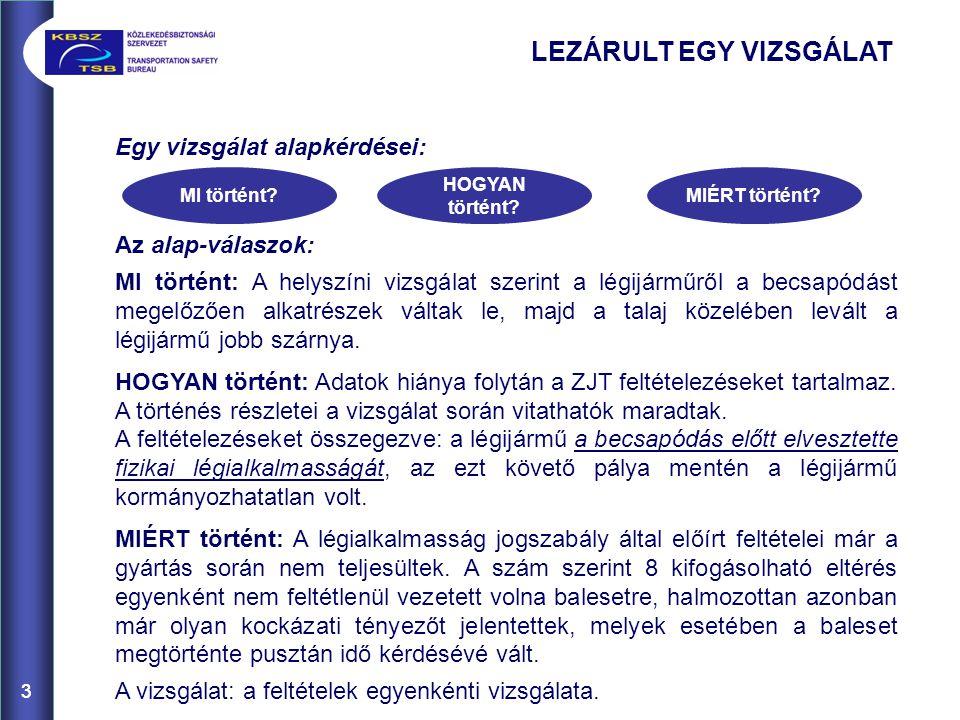 24 LTF-UL 1: 1.MTOM Ahhoz, hogy egy MK II típusú légijármű szabályosan felszállhasson, az alábbi összetevők tömegével kell számolni: üres tömeg (a mentőberendezéssel) Repülési kézikönyv szerint:295 kg, ülésterhelés az LTF-UL 25, 2.