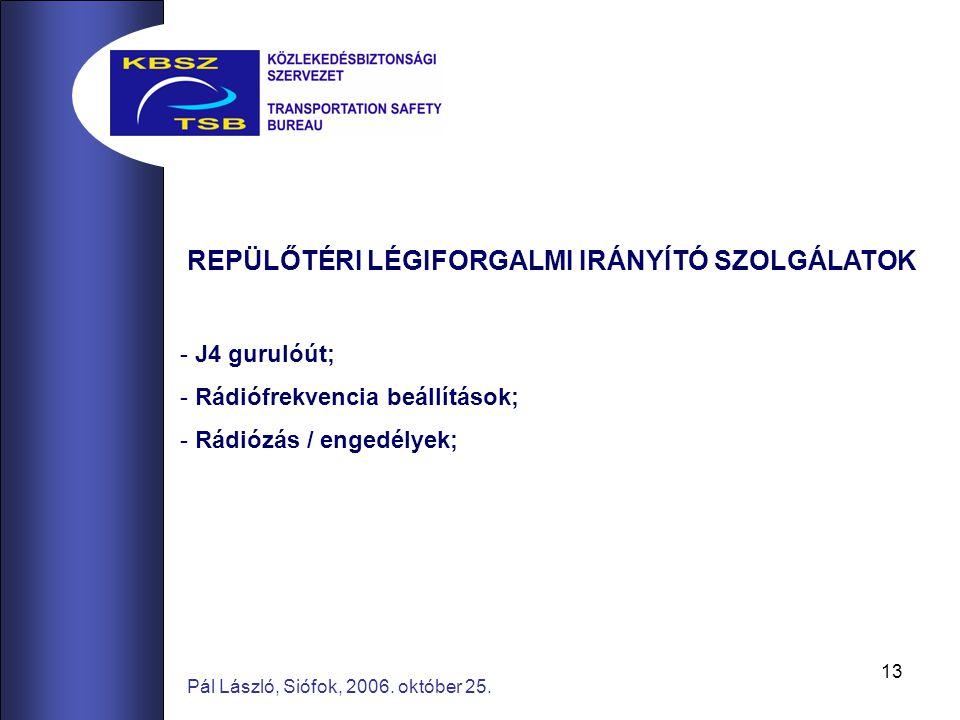 13 Pál László, Siófok, 2006. október 25.