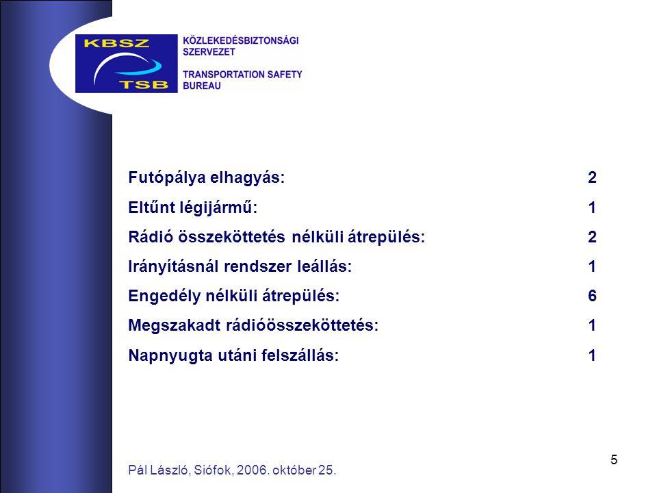 16 Pál László, Siófok, 2006.október 25.