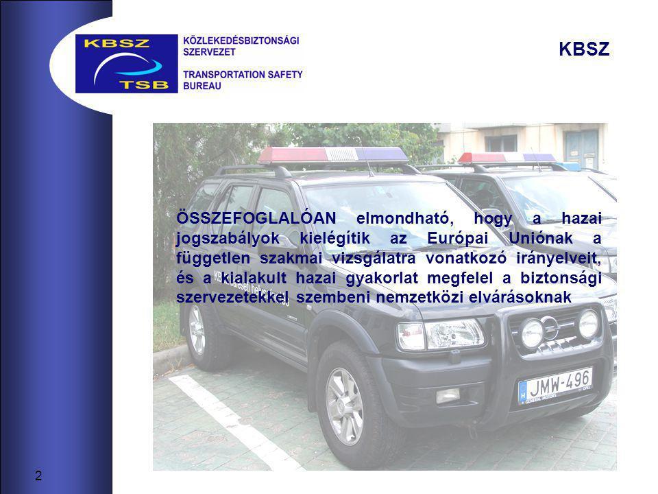 13 BIZTONSÁGI AJÁNLÁSOK Dátum 2006.EseményMinősítésTett intézkedés 07.