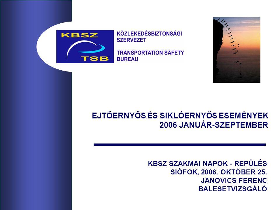 KBSZ SZAKMAI NAPOK - REPÜLÉS SIÓFOK, 2006. OKTÓBER 25.