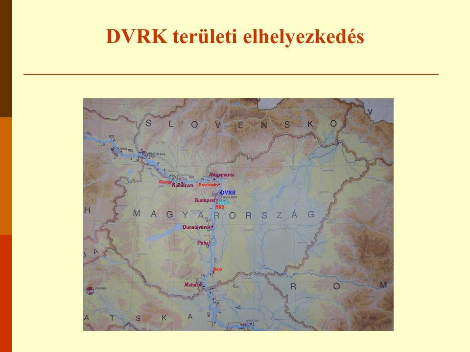 DVRK területi elhelyezkedés