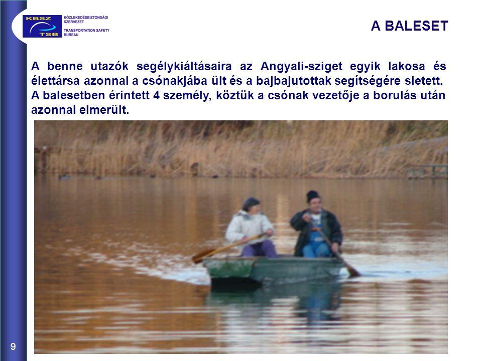 A benne utazók segélykiáltásaira az Angyali-sziget egyik lakosa és élettársa azonnal a csónakjába ült és a bajbajutottak segítségére sietett.