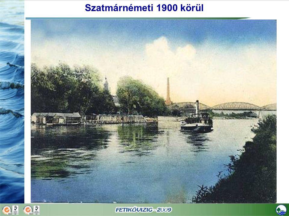 Szatmárnémeti 1900 körül
