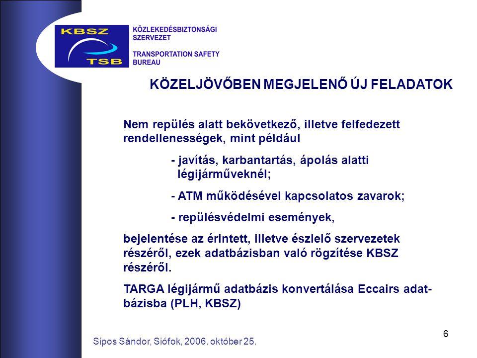 6 Sipos Sándor, Siófok, 2006. október 25.