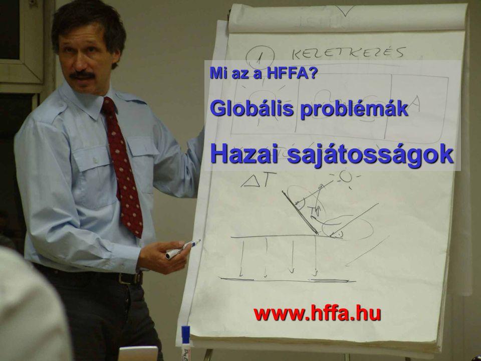 Mi az a HFFA? Globális problémák Hazai sajátosságok www.hffa.hu