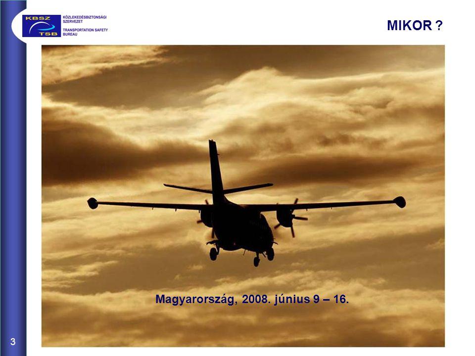 3 MIKOR Magyarország, 2008. június 9 – 16.