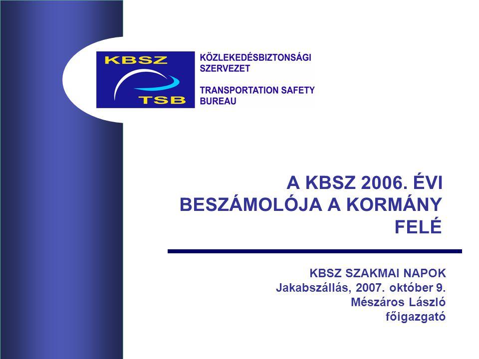 22 ÖSSZEFOGLALVA A magyar légtér alapvetően biztonságos.