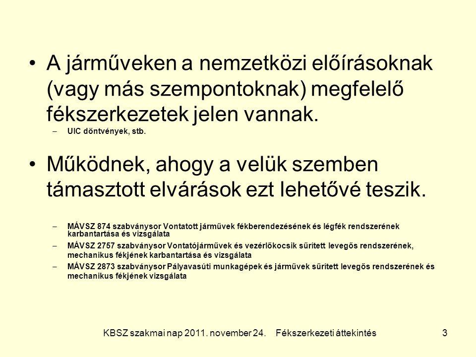 KBSZ szakmai nap 2011.november 24.