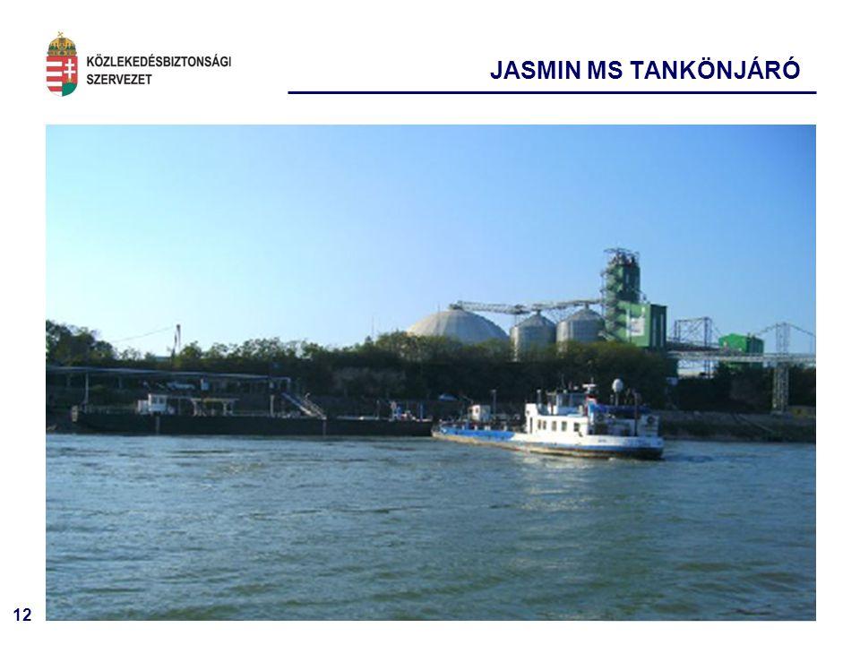 12 JASMIN MS TANKÖNJÁRÓ