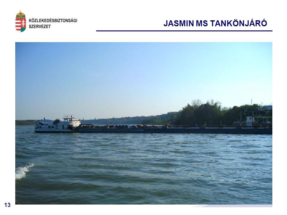 13 JASMIN MS TANKÖNJÁRÓ