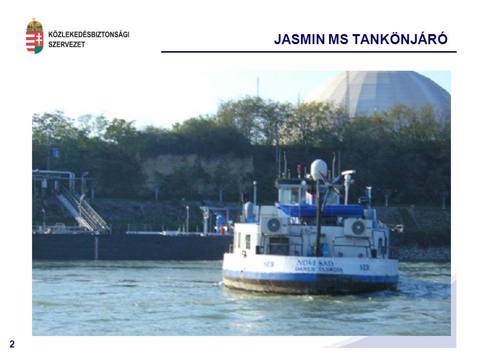 2 JASMIN MS TANKÖNJÁRÓ