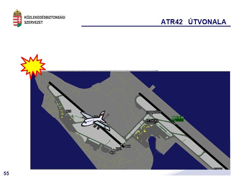 55 ATR42 ÚTVONALA
