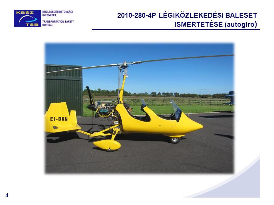 5  2010.október 16-án délután jelentették a légiközlekedési baleset.