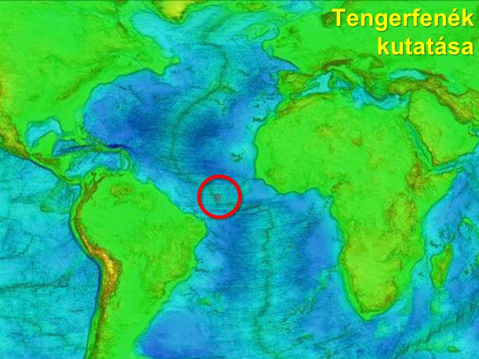 16 Tengerfenék kutatása