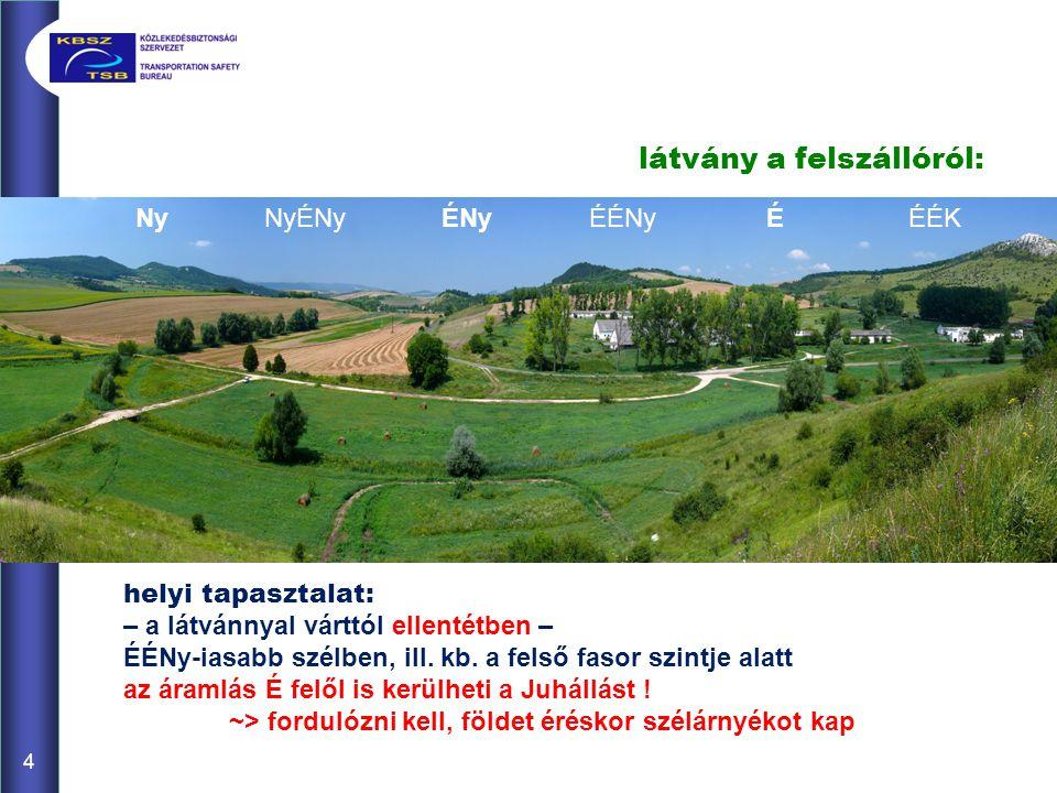 látvány a Törött-hegy oldalából: a Juhállás és a Törött-hegy között is egy ÉNy-DK-i lefutású völgy vezeti - sőt, akár húzhtja is - az áramlást .