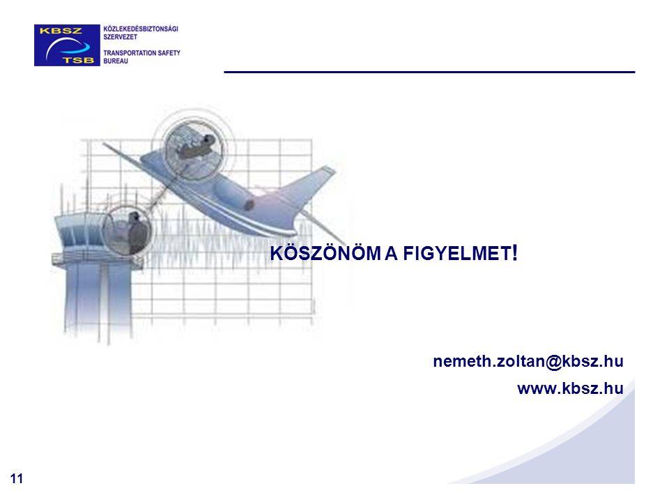 11 KÖSZÖNÖM A FIGYELMET ! nemeth.zoltan@kbsz.hu www.kbsz.hu