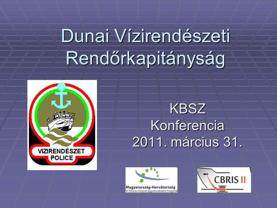 A DVRK illetékességi területe:  A Duna Magyarországi szakasza : 417 fkm  A Duna főmedréből közvetlenül hajózható mellékágak ≈ 300 fkm  Összesen:≈ 700 fkm